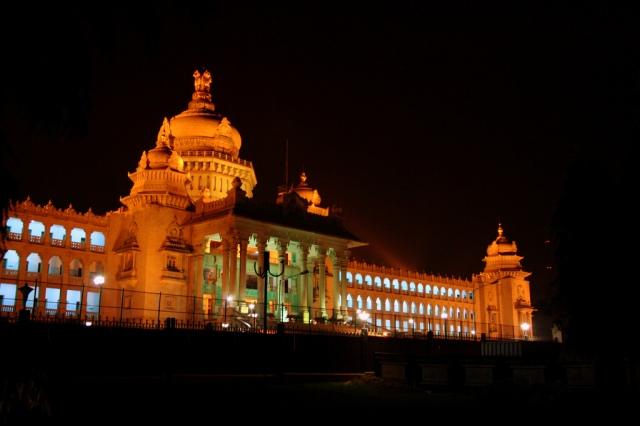 Vidhana Soudha - Night view