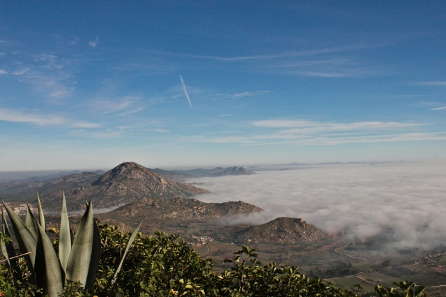 A beautiful view from Nandi hills