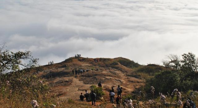 Trekking in Skandagiri