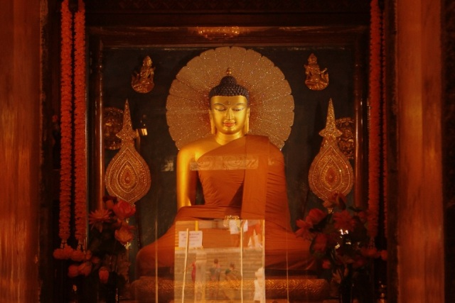 The actual place of Buddha where he got his eternal education