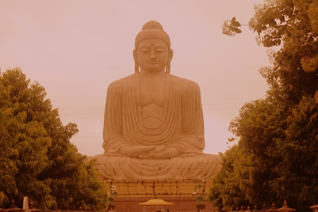 Japanese Buddha Temple in Bodh Gaya