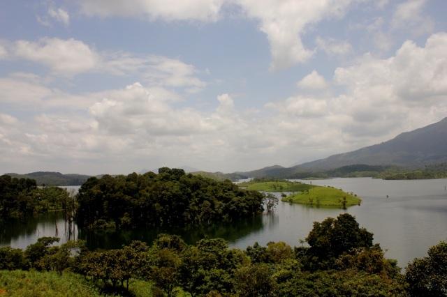 View of Banasura - Pre-evening.