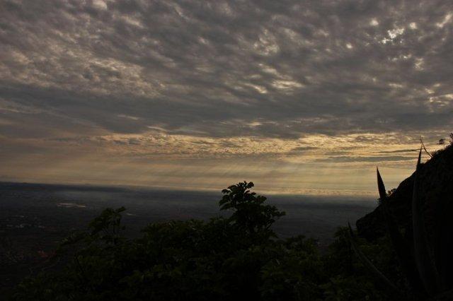 Sunrise view of Nandi