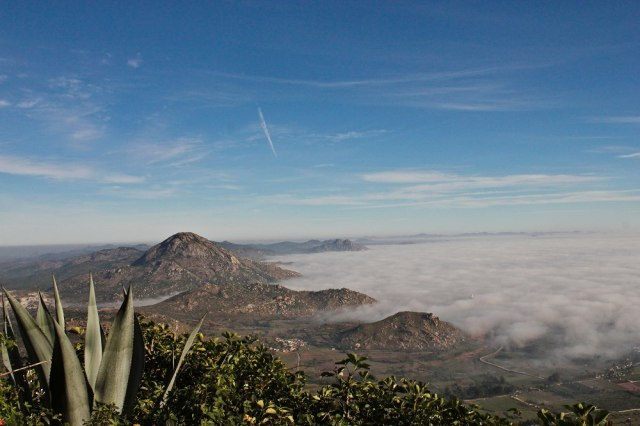 Cloud View of Nandi Hills